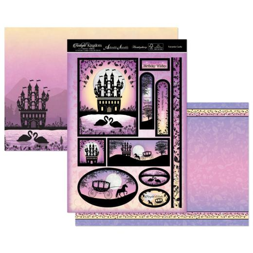 Hunkydory A Magical Kingdom Luxury Topper Collection Twilight Kingdom