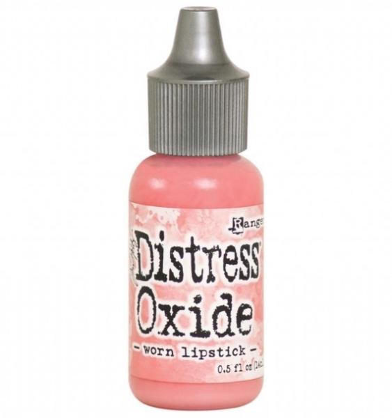 new release Tim Holtz Distress Oxide Pad worn lipstick