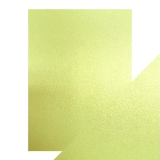 lime Light Craft Perfect Pearlescent Card A4 Lime Light